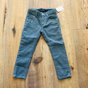 NEW Mini Boden Skinny Straight Cord Pants